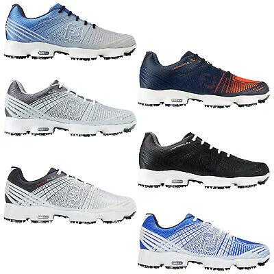 FootJoy Mens Hyperflex II 2.0 Waterproof Golf Shoes Spiked FJ Modern Trainers   eBay