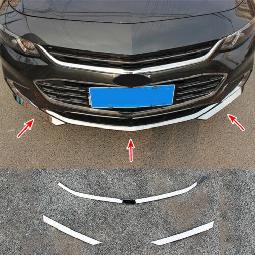 Bumper Grille Side Skirt Sticker Styling Trim For Chevrolet Malibu 2016-2018