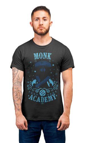 Monk Academy Final Fantasy RPG D/&D Gaming T-Shirt Adults Unisex T-Shirts