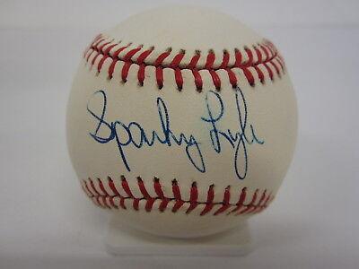 Sparky Lyle New York Yankees Signed Official American League Baseball Sgc Coa Autographs-original Baseball-mlb