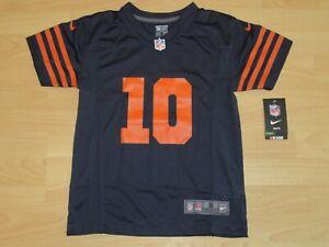 timeless design 92b15 123e8 Nike Chicago Bears Mitchell Trubisky #10 Alternate Vintage ...