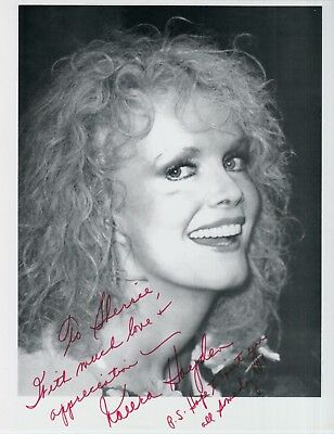 nora Objective Naura Hayden Hand-signed Beautiful 8x10 Closeup Uacc Rd Coa Late Actress Strengthening Waist And Sinews