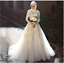 Vintage-Wedding-Dresses-High-Collar-Appliqued-Beaded-A-Line-Muslim-Bridal-Gown