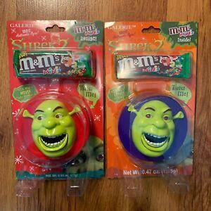 Lot Of 2 Shrek 2 M M S Minis Moving Eyes Mouth Red Purple Nib Ebay
