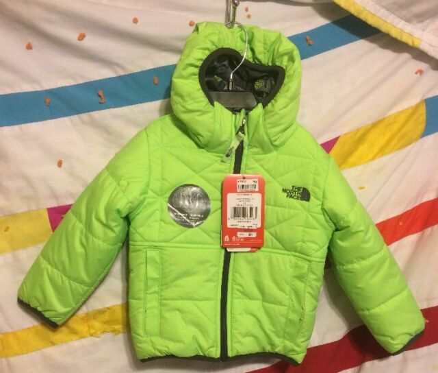 05438cbe4 Authentic The North Face Reversible Perrito, Toddler Boys Jacket Size 2T