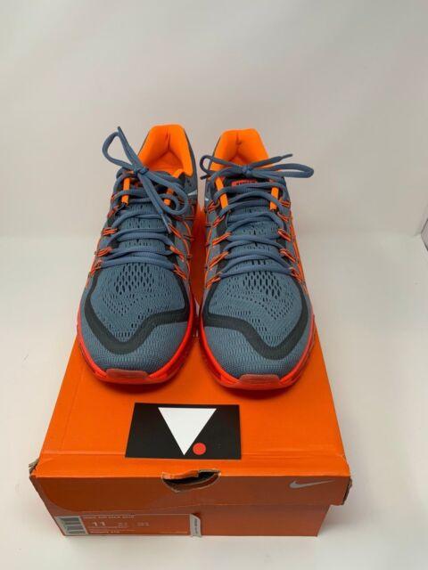 Nike Air Max 2015 Gray Orange White Men's Size 11 698902 418