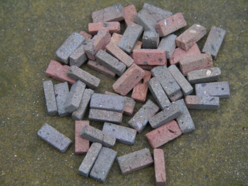 50 1:12 Th Antiguo Oscuro Stock Real En Miniatura De Ladrillos