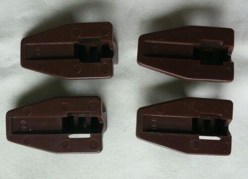 4 Kenlin Rite-Trak I II Dresser Drawer Replacement Stop Guide Glide Case Runner