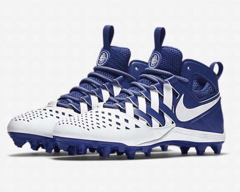 Nike huarache v - männer stollenschuhe royal blau - weiß 807142 15 neue schuh - 807142 weiß d4f0e6