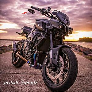 Details about For Yamaha MT-10 MT-09 MT-07 Black 7/8