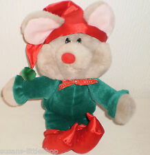 Commonwealth Soft Toy Plush squeaky Ear Mouse Mice Rodent Collectable Animal