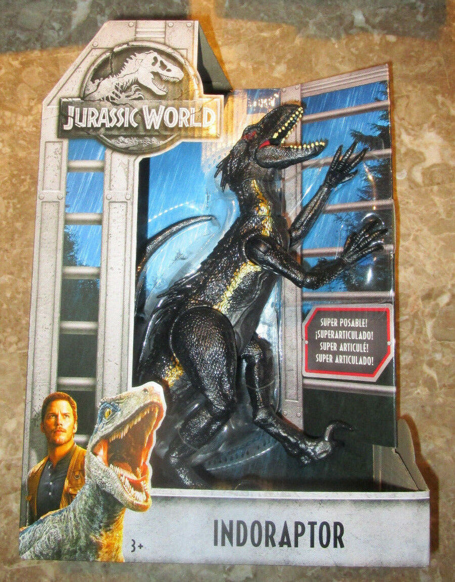 Jurassic World 2 indoraptor figura dinosaurio Villano 2018 indominus Rex Raptor