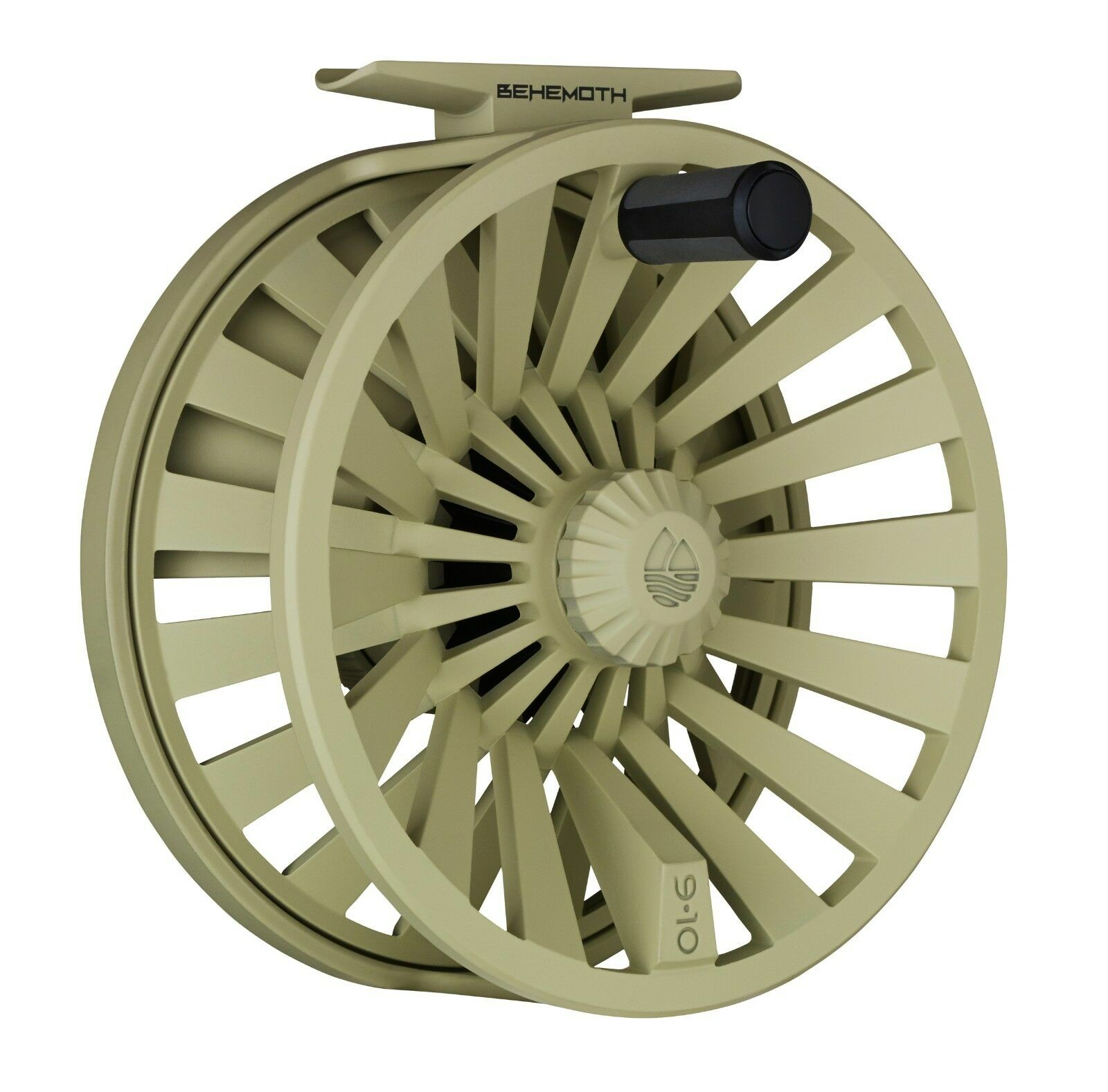 ROTington Behemoth Fly Reel, New Größe 4/5, Farbe Desert, New Reel, 2c6483