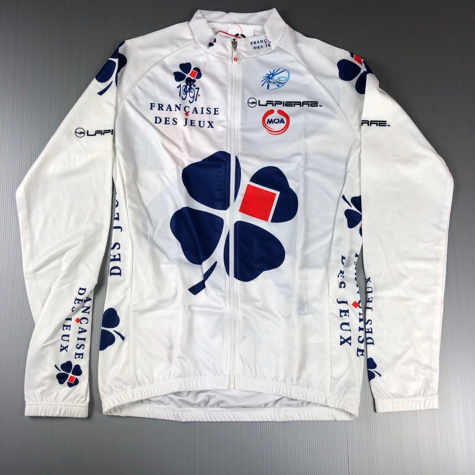Francaise de yeux original nalini moa Radfahren long sleeved tailGoldt jersey jersey l