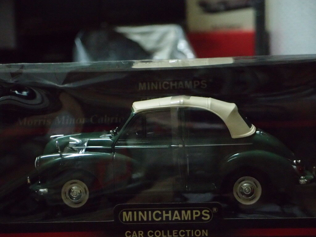 MORRIS MINOR CABRIOLET 1 18 SCALE MINICHAMPS