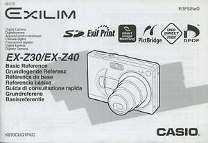 casio ex z1050 manual