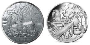 FRANCIA FRANCE 10 EURO SILVER PROOF REBUILD NOTRE DAME DE PARIS CATHEDRAL @ RARE