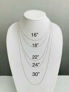 925-Sterling-Silver-2mm-Figaro-Link-Chain-Made-in-Italy-Necklace-F050