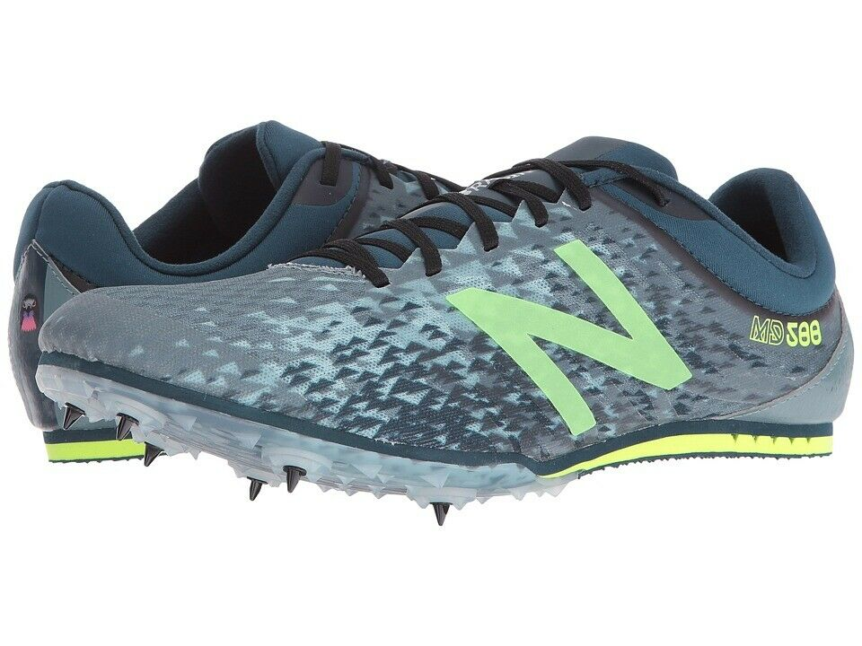 New Balance MD500v5  Middle Distance Spike (Grey Green) Men's shoes Size  12.5  credit guarantee