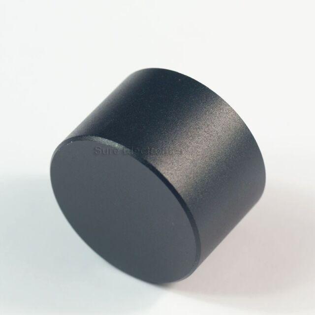 30mmx19mm Black Solid Aluminum AMPS Volum Control Knobs