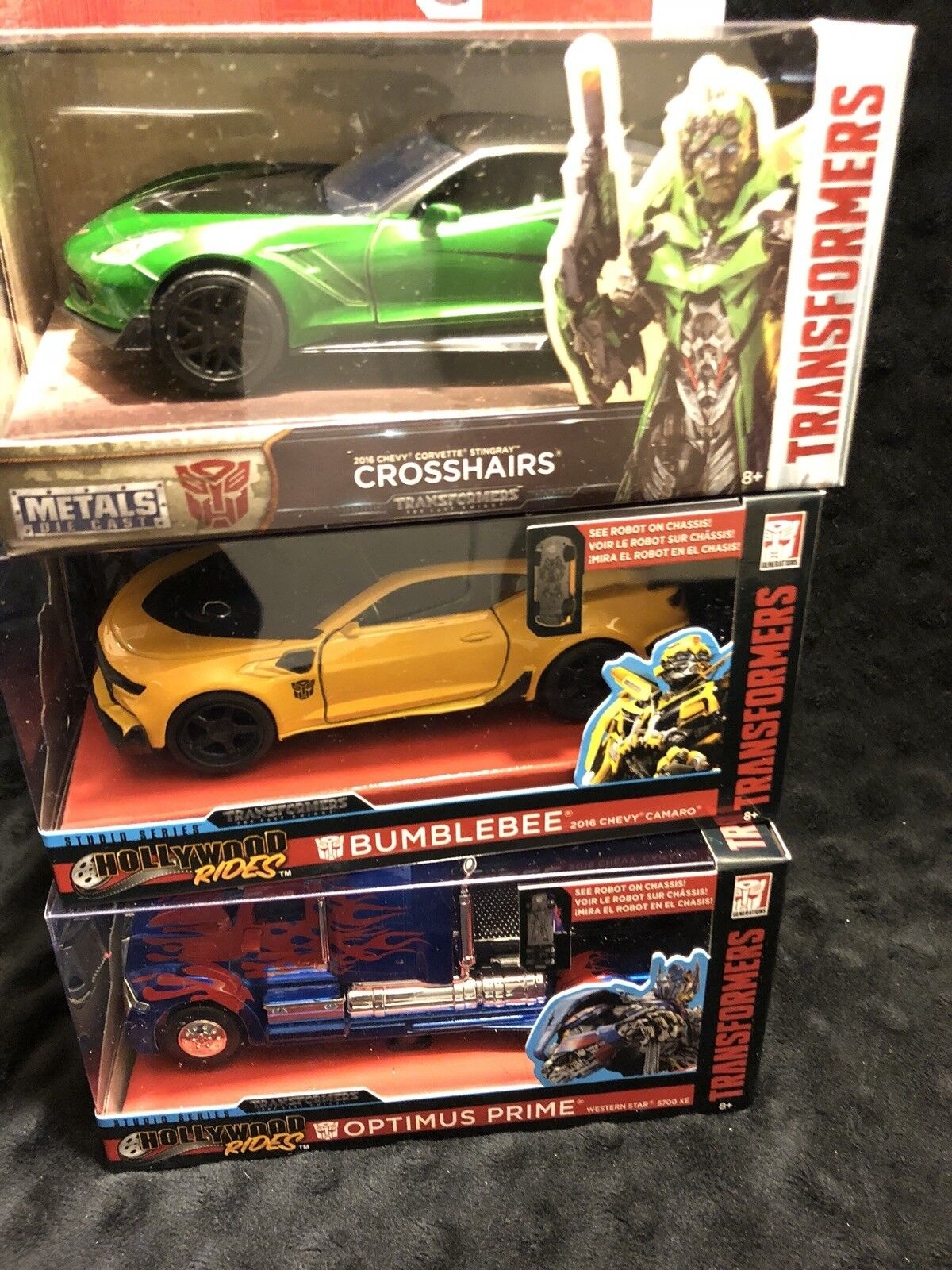 Jada Metals Hollywood Rides Transformers 1 32 Scale