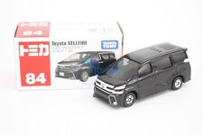 Takara Tomy Tomica #84 Toyota Vellfire Black Color Scale 1/65  Diecast Toy Car