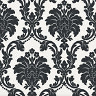 Damask White Background Arthouse Opera ROMEO Black Wallpaper 693500