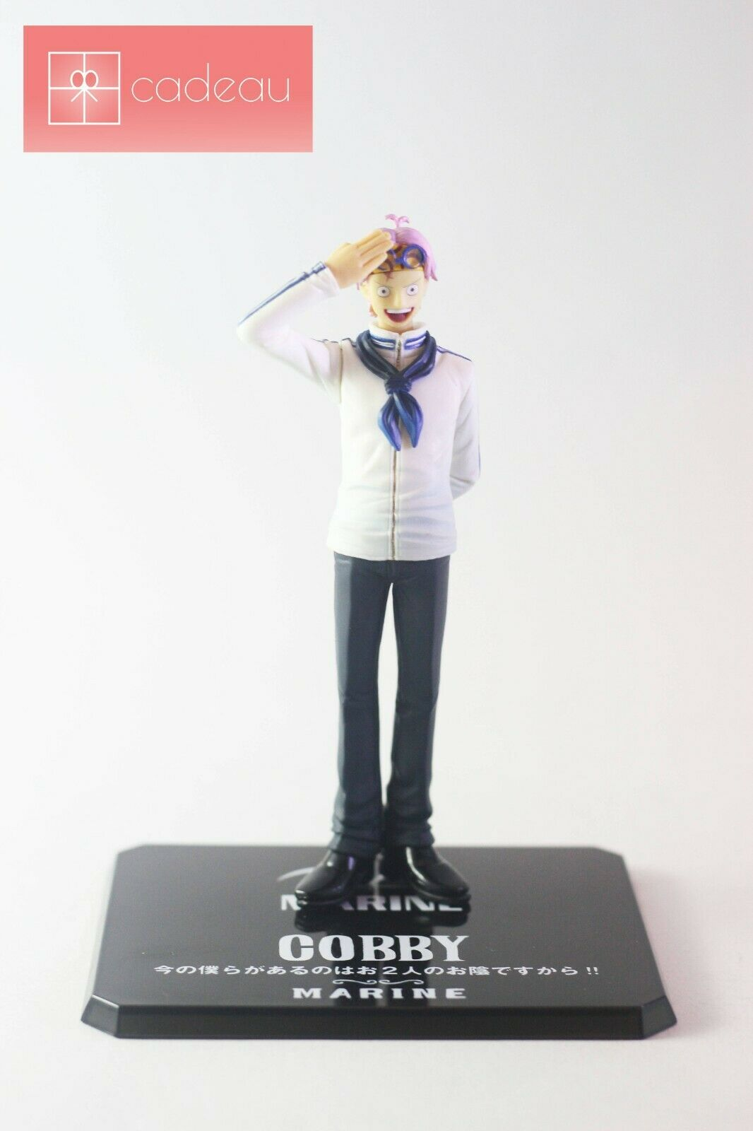 One Piece Coby Coby Coby Helmeppo Figuarts Zero FZO Japanese version Action Figure 284d0f