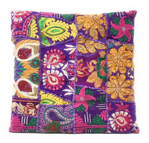 Kambadia Sitzkissen Orientalisches Bodenkissen Yogakissen Kissen Indien 40x40 cm