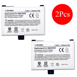 2Pcs-Battery-for-Barnes-amp-Noble-BNRV100-BNRB454261-NOOK-Classic-First-Edition