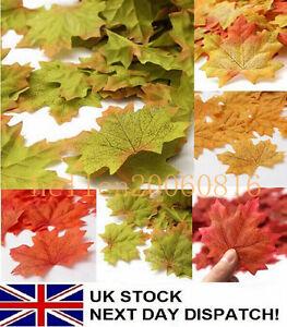 100-1000X-Fall-Silk-Leaves-Wedding-Favor-Autumn-Maple-Leaf-Decorations-Ornament