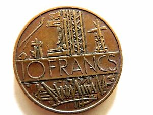 1976-French-Ten-10-Francs-Coin
