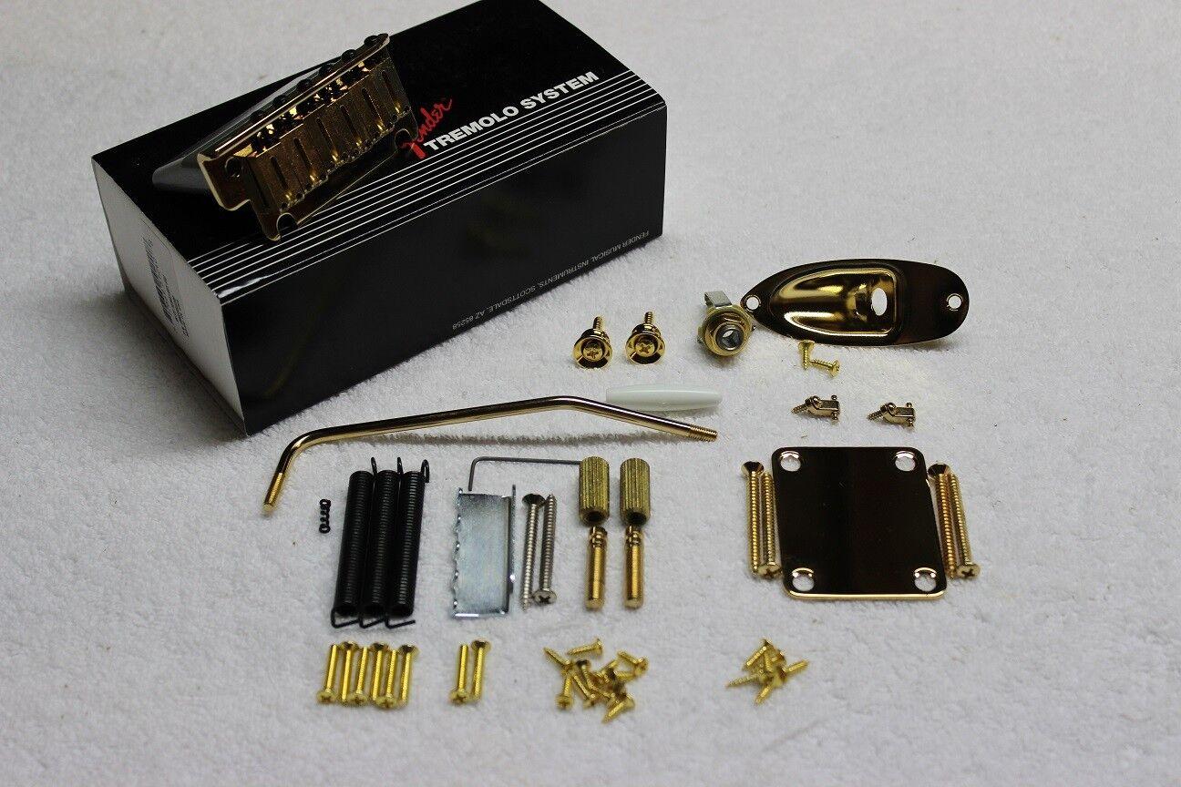 Fender American Standard Gold Stratocaster Body Hardware Set 0992050200