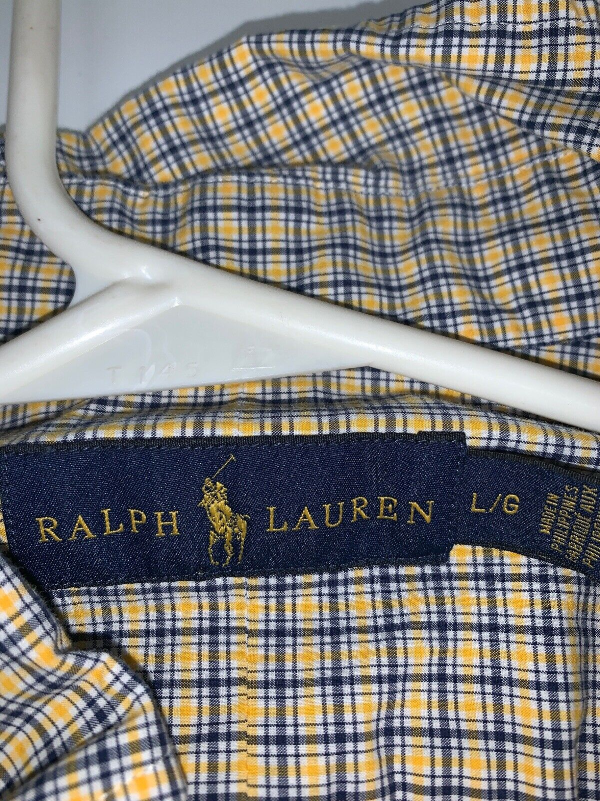 Ralph lauren long sleeve shirt Large