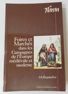 RARE-FOIRES-ET-MARCHES-DANS-LES-CAMPAGNES-DE-L-039-EUROPE-MEDIEVALE-ET-MODERNE