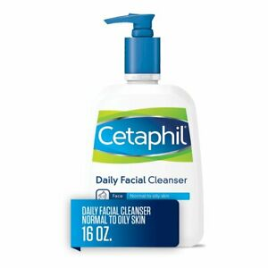 Cetaphil Daily Facial Cleanser, Face Wash For Normal to Oily Skin, 473ml