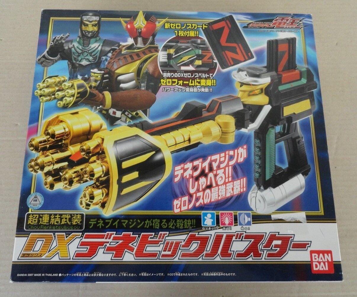 Dene DX Masked Rider Den-O Super Big Buster armed consolidated Bandai brand new