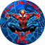 SPIDERMAN-PERSONALISED-ROUND-PRINTED-EDIBLE-BIRTHDAY-CAKE-TOPPER-DECORATION thumbnail 2