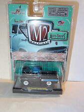 M2 MACHINES AUTO-TRUCKS R21 BLACK 1958 CHEVY APACHE CAMEO PICKUP TRUCK