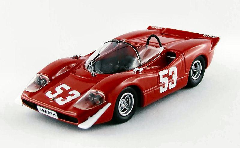 Abarth 2000  25 Winner 500 HM Imola  1969 Ortner Van Lennep 1 43 Model  édition limitée