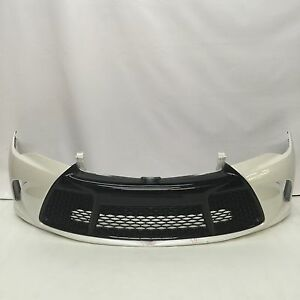 toyota camry front bumper 2015 2016 white oem ebay. Black Bedroom Furniture Sets. Home Design Ideas