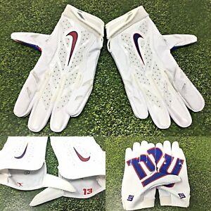 wholesale dealer 2174e 58ab3 Details about Nike New York Giants Odell Beckham Jr Football Vapor Jet  Gloves Size XXL