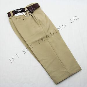 toddler sand dress pant flat front slacks with brown belt