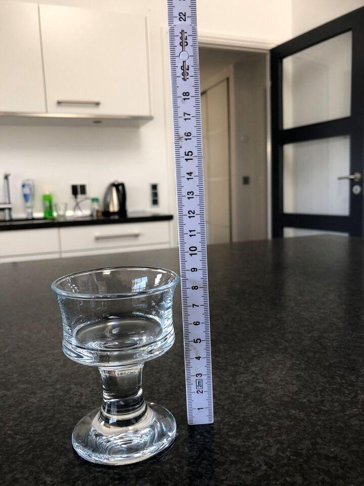 Glas, Likørglas, Skibsglas - Holmegaard