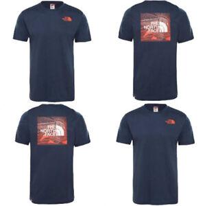 T-shirt-M-M-uomo-THE-NORTH-FACE-Red-Box-Celebration-Col-Urban-Navy-P-E-19
