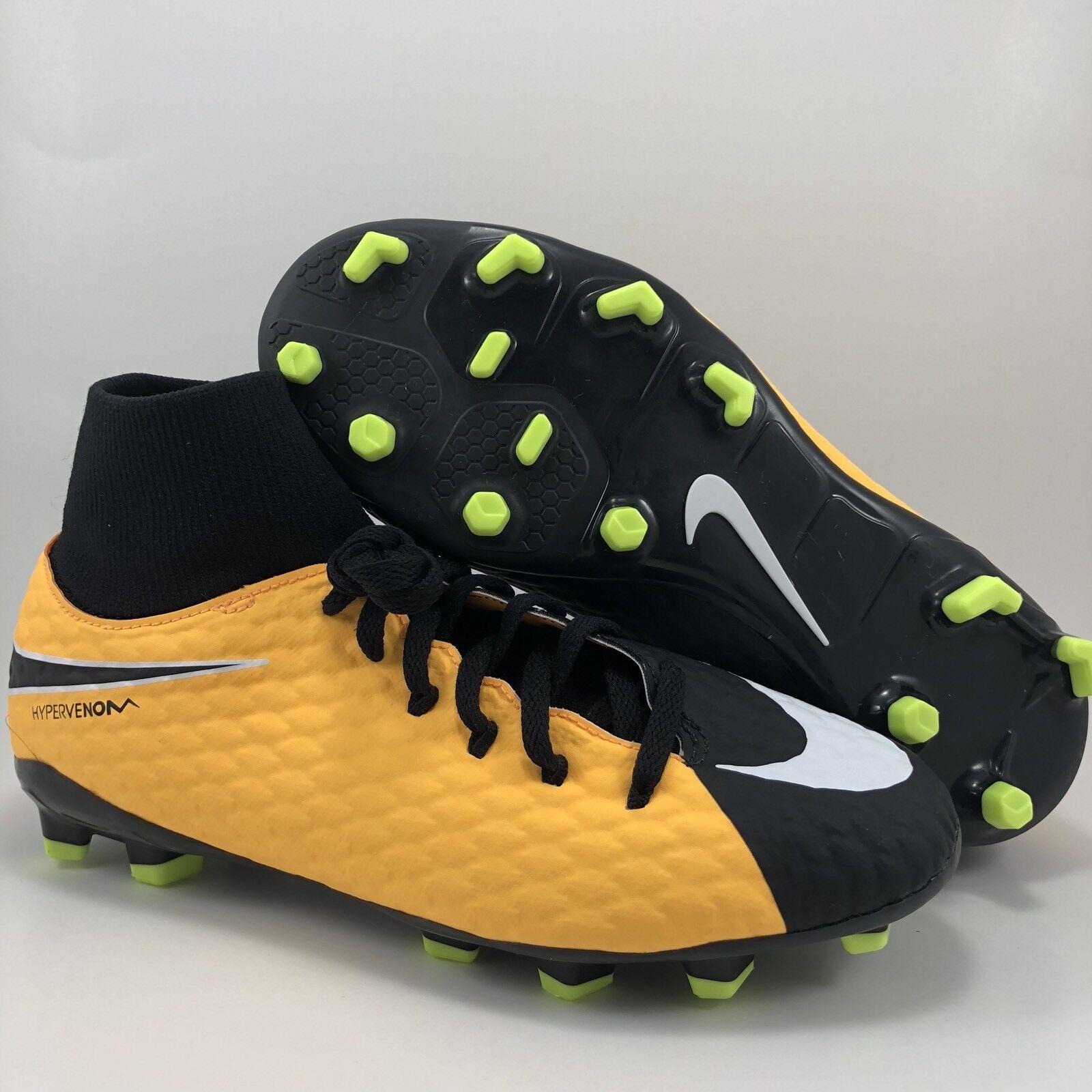 Nike hypervemon Phelon III DF FG Botines de fútbol Juventud tamaño 6Y (917772 801)