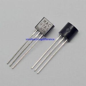 5-un-10-un-TO-92-Nuevo-y-Original-MAC97A6-Transistor
