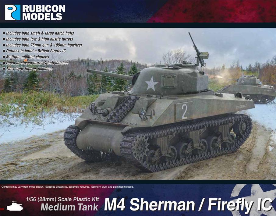 Rubicon Models  280060 - USA M4 Sherman   Firefly IC Medium Tank - Bolt Action
