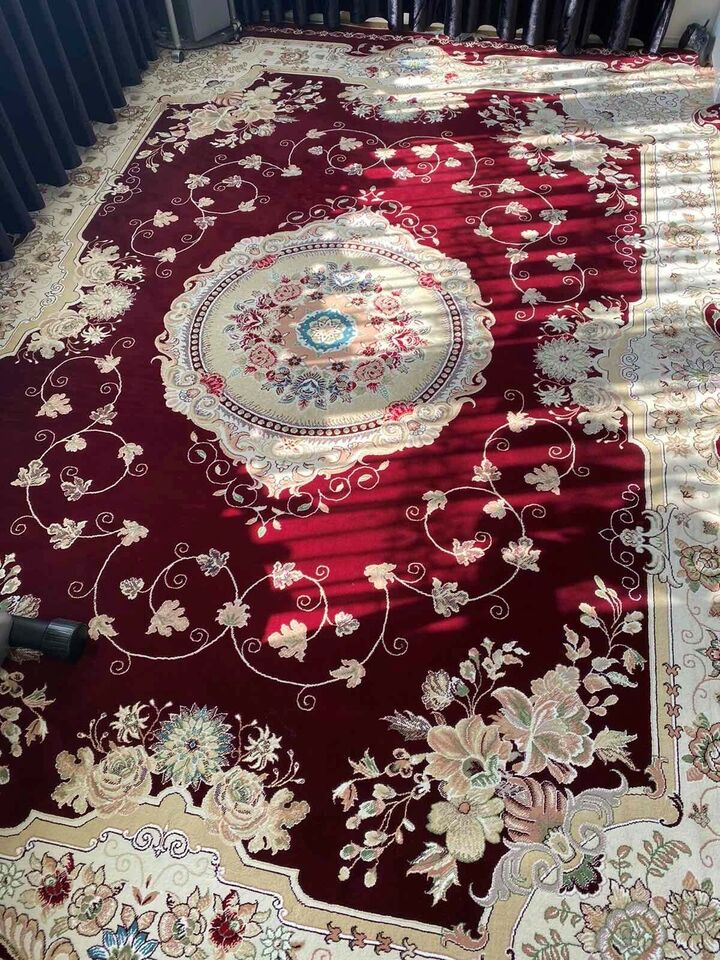 Gulvtæppe, ægte tæppe, b: 250 l: 350
