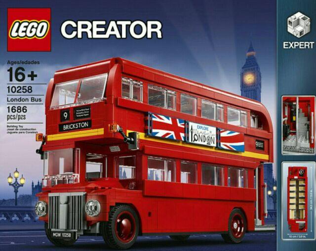 New LEGO CREATOR 10258 LONDON BUS EXCLUSIVE Set